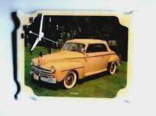 1947 Ford Car Wooden Wall Clock (Epoxy Finish)