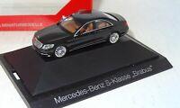 Herpa Mercedes-Benz BRABUS S-Klasse W222 PC+OVP 1:87 (1_2_K)