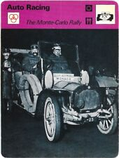 1978 Sportscaster Card Auto Racing The Monte-Carlo Rally # 20-30 NRMINT / MINT.