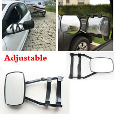 Adjustable Trailer Mirror Clip-on Towing Mirror Wide View Fit For Car SUV Truck