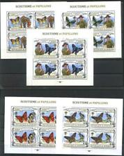 Mint stamps in miniature sheets Fauna Butterflies Scouts 2013 from Burundi avdpz