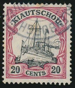 Kiautschou Nr. 32 gestempelt MECKLENBURGHAUS (49789)