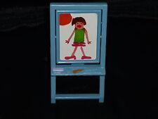 Fisher Price Loving Family Dollhouse Blue Flip Art Easel Chalkboard