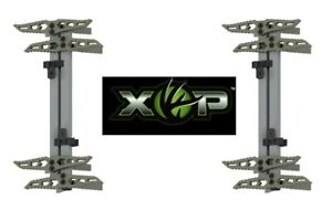 """XOP Ultra Climbing Sticks 18"""" Short Double Step 4-Pack - Tethered Saddle Hunting"""
