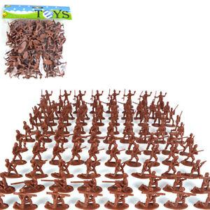 100 Pcs/set Mini Soldier for Kids Toy Classic War Games Props Random SEQU