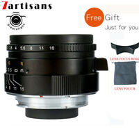 7artisans 35mm F2.0 Manual Focus Lens for Leica M-Mount Cameras M2-10 M240 M4P