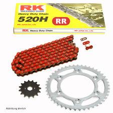 Kit de Cadena Aprilia Etx 125 98-00 Cadena RK Fr 520 H 110 Abierto Rojo 16/45