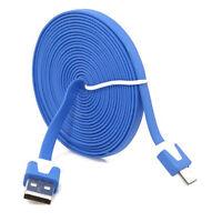 Micro USB cavo dati cavo di sincronizzazione per Samsung Galaxy HTC 2M Blu HKIT