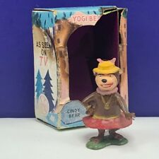 Marx Tinykins Hanna Barbera toy figure miniature vintage Cindy Bear Yogi box vtg