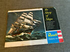 Vintage REVELL The Story of Ships Authentic Kits Catalog Booklet, 1959