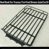 Metall Dachgepäckträger Dachträger Für 1/10 Traxxas TRX4 Ford Bronco Axial SCX10