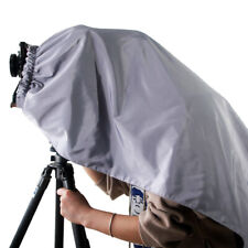 eTone Professional Dark Cloth Focusing Hood Silver Black For 4x5 Camera Wrapping
