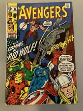 AVENGERS #80 •VF+ (8.5)• (1970)•🔑ORIGIN AND 1ST APP RED WOLF🔑🔥• JOHN BUSCEMA