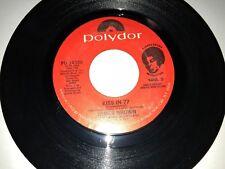 "JAMES BROWN A Kiss in '77 / Woman POLYDOR 14388 45 VINYL 7"" RECORD SOUL FUNK"