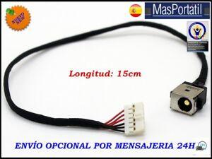 CONECTOR ALIMENTACION+CABLE NUEVO DC-IN JACK ASUS X550 14004-01450000  PJ250
