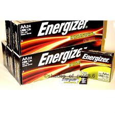 120 Energizer Industrial AA Alkaline Batteries (EN91, LR6)