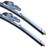 """ASH Front Aero Twin Windscreen Wiper Blades FITS 15"""" + 19"""""""
