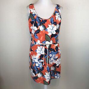 Gray striped /& Multi Floral  NWT Sleeveless Linen  Dresses GAP L,M,S