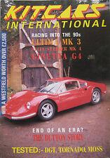 Kitcars International 01/1990 featuring Dutton, Ultima, Ginetta, Sylva, Eagle