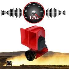 Car Motorcycle 12V Compact Dual Tone Electric Pump Air Loud Horn Vehicle Siren