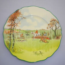 """Royal Doulton Series Ware """"FOX HUNTING A """" Pattern""""  RACK Plate"""