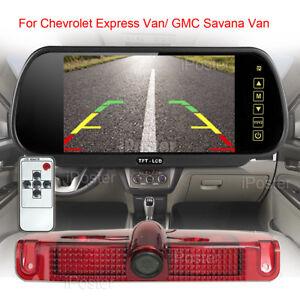 "7"" Rear View Mirror Monitor+Backup Camera / Chevrolet Express Van/GMC Savana Van"