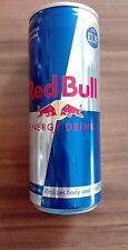 1 Energy Drink Boîte Red Bull Grande-Bretagne Irlande plein full 250 ml Can Livres