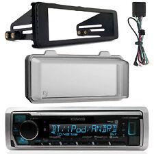 Marine Bluetooth Radio, Harley Stereo Install Kit, 96-13 Harley Weathershield