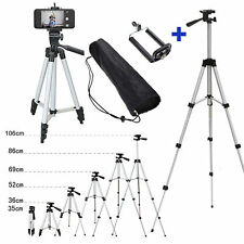 Professional Adjustable Camera Tripod Stand Mount+Cell Phone Holder for iphone