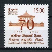 Sri Lanka 2018 MNH Independence Day 1v Set Temples Architecture Stamps