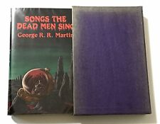 Signed GEORGE RR MARTIN Songs the Dead Men Sing [Dark Harvest, limited edition]