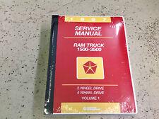 1997 Dodge Ram Truck 1500 2500 3500 Service Shop Repair Manual NEW FACTORY 97