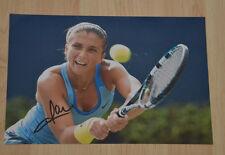 ORIGINAL Autogramm von Sara Errani. pers. gesammelt. 20x30 Foto. 100 % ECHT