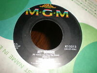 The Beatles 45 My Bonnie MGM