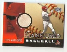 2000 Mark McGwire Upper Deck Game Ball Game-Used