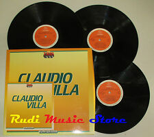 BOX 3 LP CLAUDIO VILLA FONIT CETRA SERIE TRIS PL 703 cd mc dvd vhs