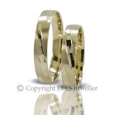 2 Trauringe - Eheringe / Trauringe 585er Gold inkl. Gravur ++ Sofort lieferbar