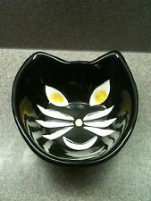 Htf Collectible Hausen Ware Cat Face Bowl by Libby Wilkie