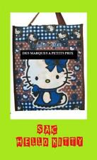 SAC PORTE MAIN TISSU DOS CABAS BESACE FOURRE TOUT CHAT HELLO KITTY FEMME FILLE
