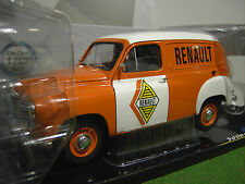 RENAULT COLORALE FOURGON RENAULT 1953 orange 1/18 SOLIDO 421183620 voiture minia