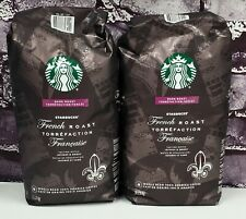 New listing Starbucks French Dark Roast Whole Bean 100% Arabica Coffee, 5lbs, Sept 2021