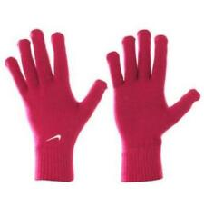 nike glove  adult womens x large xl red / cherry knitted new tags running ladies
