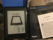 Amazon Kindlepaper white with 300 PPI display wifi 4g build-in light
