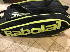 Babolat Pure Black/Fluo Yellow 12 Pack Tennis Bag