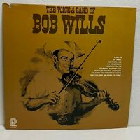 Bob Wills – The Voice & Band Of..: Pickwick LP 1978 Vinyl Compilation (Country)