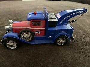 CARQUEST DIECAST 1929 FORD WRECKER Vehicle Car Toy/Bank - Used