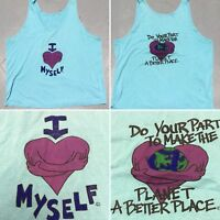 Vintage I Love Myself Do Your Part To Make The Planet A Better Place Tank Top