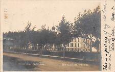 D34/ St Cloud Minnesota Mn Real Photo RPPC Postcard 1907 State Normal School 3