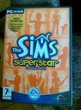 Los SIMS-SUPERSTAR-Paquete de Expansión-Juego de PC CD-ROM-EA - 2 Discos