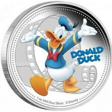 2014 Disney Mickey and Friends Donald Duck 1oz Silver Proof Coin Niue-UNC